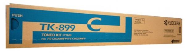 KYOCERA MITA Cyan Toner For Fs-c8025 C8525 TK-899C