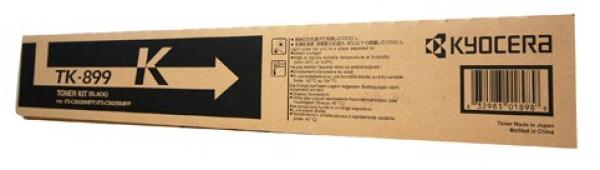 KYOCERA MITA Black Toner For Fs-c8025 C8525 TK-899K