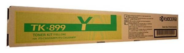 KYOCERA MITA Yellow Toner For Fs-c8025 C8525 TK-899Y