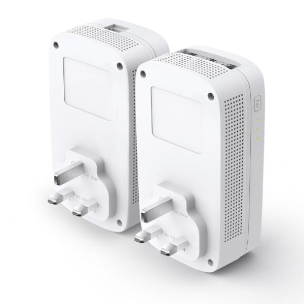 Tp-link AV1300 Gigabit Passthrough Powerline Starter Kit Gbe (TL-PA8033PKIT)