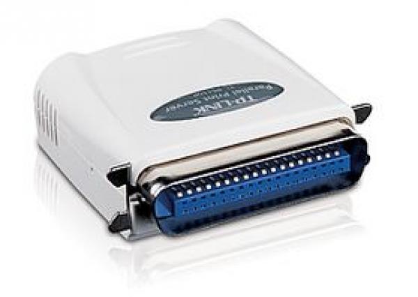 TP-LINK Single Parallel Post Ethernet Print Server TL-PS110P
