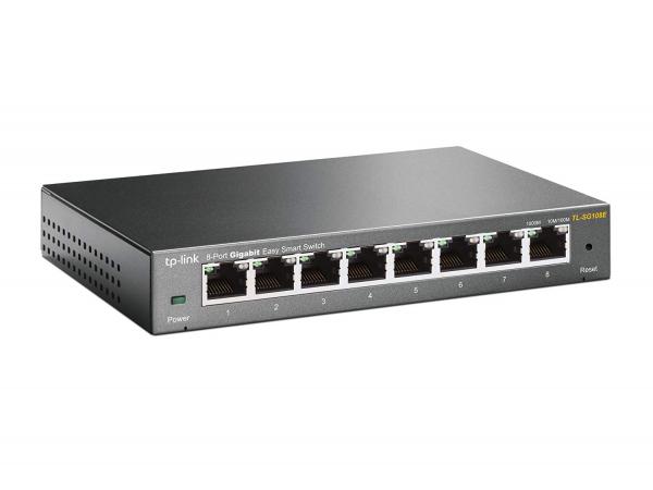 Tp-link Steel Housing 8-Port 10-100-1000Mbps Desktop Switch (TL-SG108)
