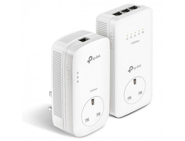 Tp-Link  Ac1200 Wi-Fi Passthorugh Range Extender P/line (TL-WPA8630P-KIT)