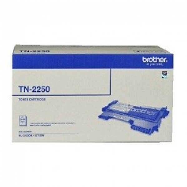 BROTHER Tn2250 Black Toner 2600 Page Yield For TN-2250