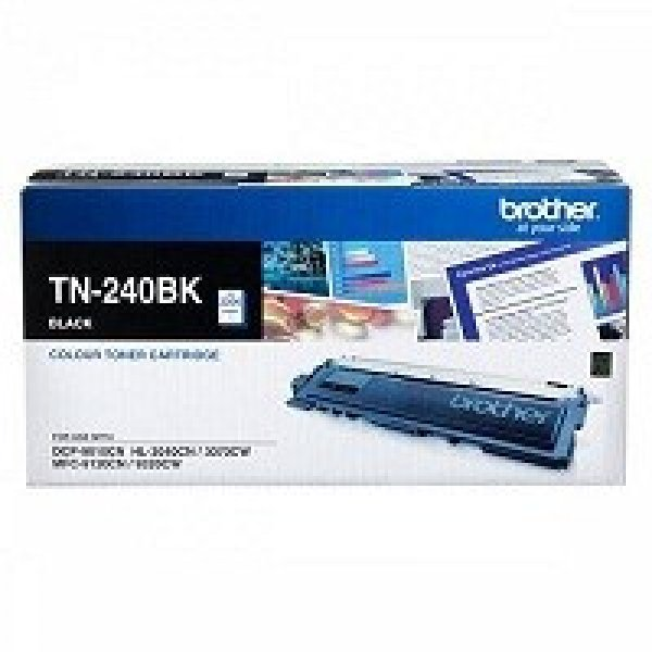 BROTHER Black Toner Cartridge TN-240BK