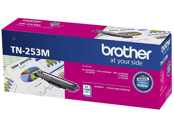 Brother Magenta Toner-hl-3230c Dw3270cdwdcp-l3510cdwmfc-l3 7 ( Tn-253m )