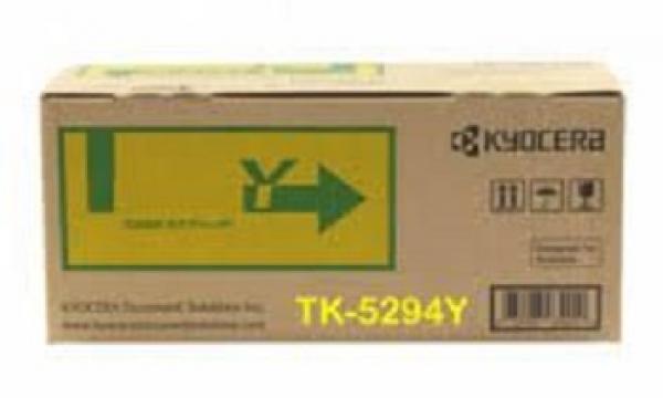 Kyocera Tk-5294y Toner Kit Yellow - For Ecosys P7240cdn ( 1t02txaas0 )