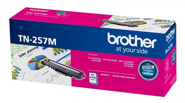 Brother Mag Hi Yld -hl-3230cdw 3270cdwdcp-l3510cdwmfc-l37 45 ( Tn-257m )