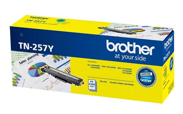 Brother Yel Hi Yld -hl-3230cdw 3270cdwdcp-l3510cdwmfc-l37 45 ( Tn-257y )