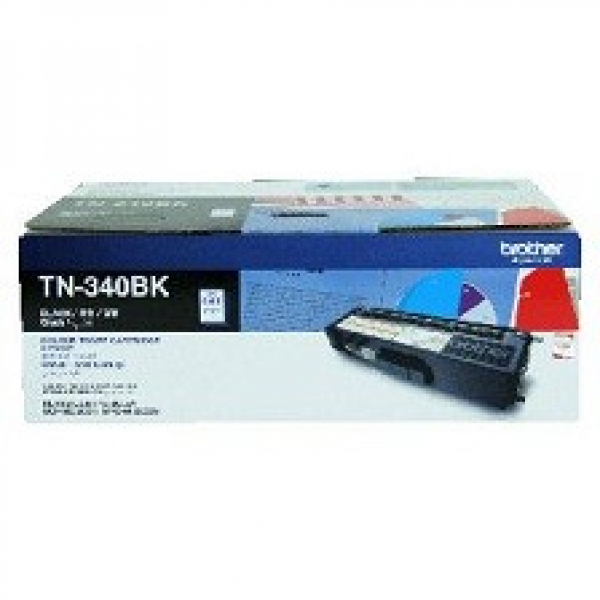 BROTHER Tn340 Black Toner 2500 Page Yield For TN-340BK