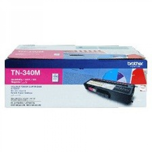 BROTHER Tn340 Magenta Toner 1500 Page Yield For TN-340M