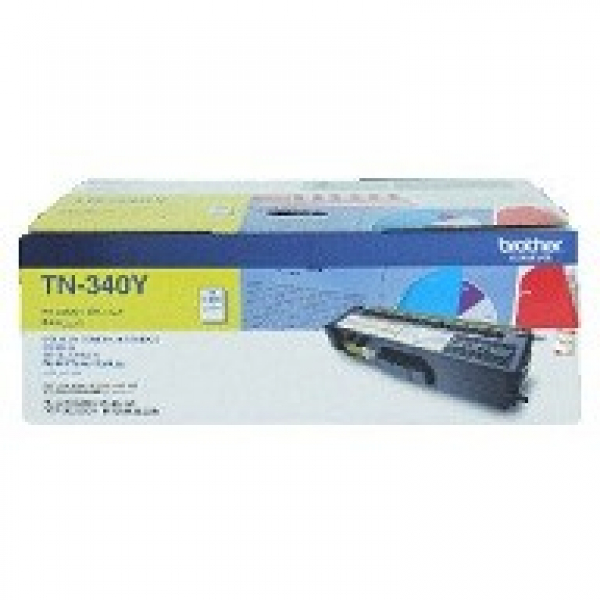 BROTHER Tn340 Yellow Toner 1500 Page Yield For TN-340Y