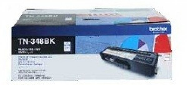 BROTHER Tn348 Black Toner 6000 Page Yield For TN-348BK