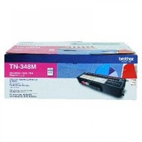 BROTHER Tn348 Magenta Toner 6000 Page Yield For TN-348M