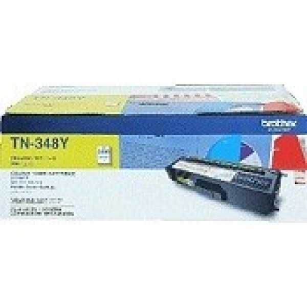 BROTHER Tn348 Yellow Toner 6000 Page Yield For TN-348Y