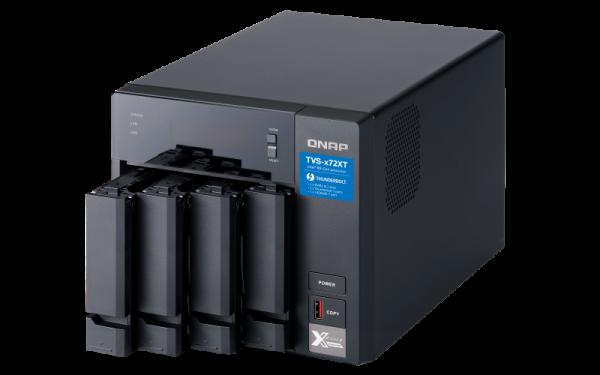 Qnap 4-Bay 3.5Sata HDD USB 3.0 Type-C Hardware Raid External E NAS Accessories (TR-004)