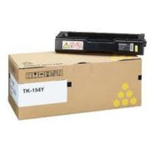 KYOCERA Tk-154y Yellow Toner (6000 Pages In 1T05JKAAS0