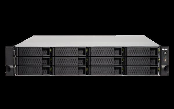 Qnap 12 Bay Nas (No Disk) 4GBAMD GX-420MCGBE 4 Network Storage (TS-1263XU-RP-4G)