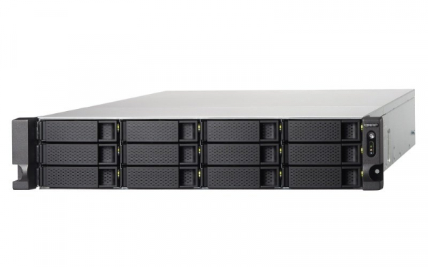 Qnap 12 Bay Rack Enclosure with 8GB RAM Network Storage (TS-1273U-RP-8G)