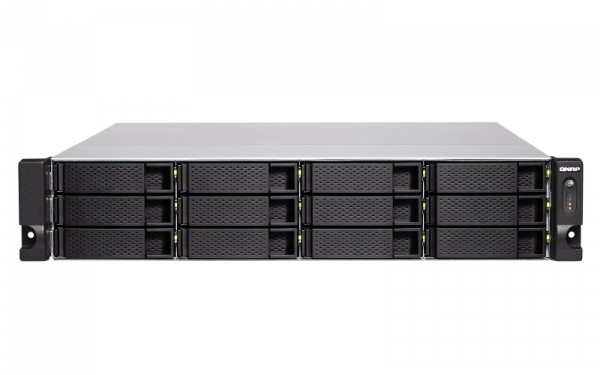 Qnap 12 Bay Nas(No Disk) Xeon E-212 48GB 10 Network Storage (TS-1283XU-RP-E2124)