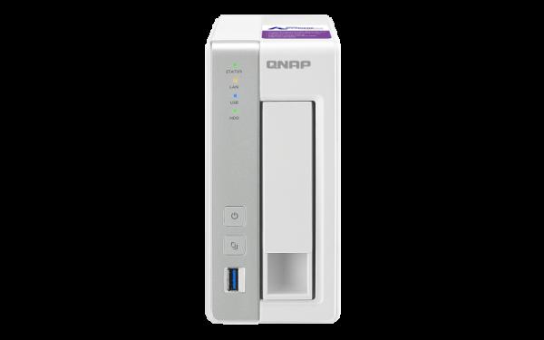 Qnap Bundle TS-131P 1Bay Naswith Seagate IW 2TB (1 X 2TB) HD Network Storage (TS-131P-2TB)