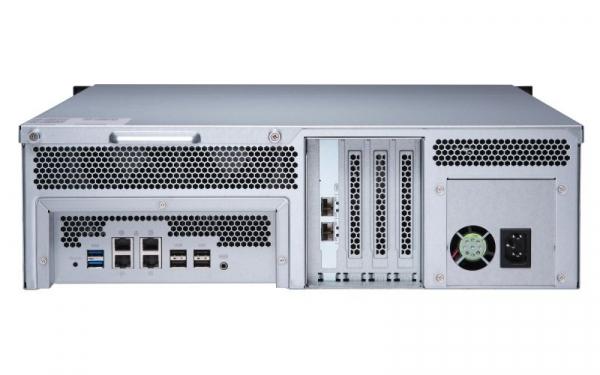 Qnap 16 Bay Rack Enclosure with 8GB Network Storage (TS-1673U-8G)