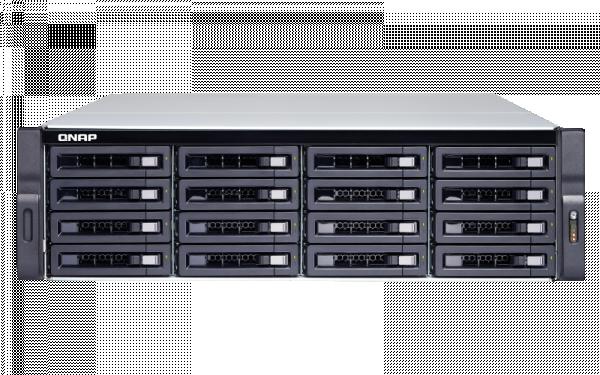 Qnap -4G 16Bay Nas(no Disk)Ryzen 34GB10GBE (TS-1677XU-RP-1200)
