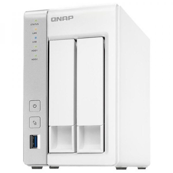 Qnap TS231P2-4G Turbo Nas Tower Quad Core 1.7GHZ Network Storage (TS-231P2-4G)