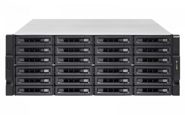 Qnap 24 BAY NAS(NO DISK)RYZEN5 2600 8GB 10GBE Network Storage (TS-2477XU-RP-2600)