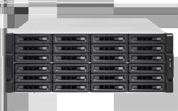 Qnap 24 Bay Nas(No Disk)Ryzen7 2700 16GB 10GB Network Storage (TS-2477XU-RP-2700)