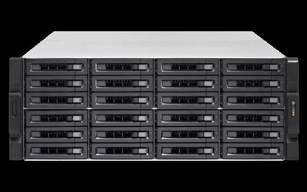 Qnap No Rail 2u Rack Nas Amd Ryzen 3.2ghz 4 Network Storage (TS-2477XU-RP-2700-16G)