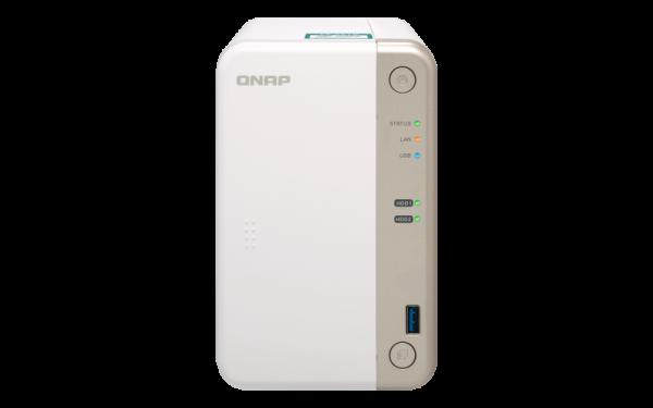 Qnap Nas 2Bay (No Disk) Cel-J3355 2GB USB GBE(1) Network Storage (TS-251B-2G)