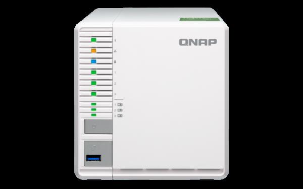 Qnap 3 Bay Nas (No Disk) Al-324 4GB USB10GBE SFP+ Network Storage (TS-332X-4G)