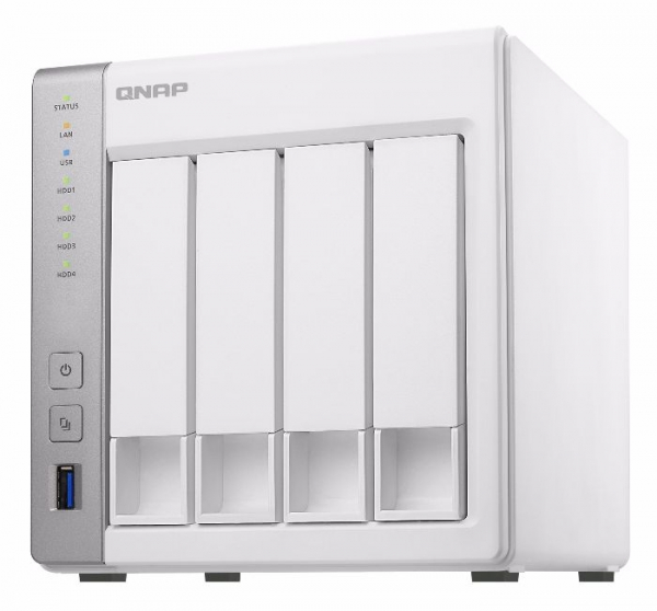 Qnap TS431P2-1G Turbo Nas Tower quad-core 1.7GHz Processor Network Storage (TS-431P2-1G)