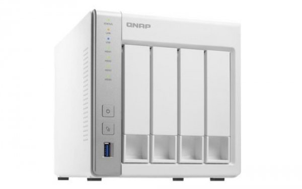 Qnap Turbo Nas Tower quad-core 1.7GHz processor Network Storage (TS-431P2-4G)