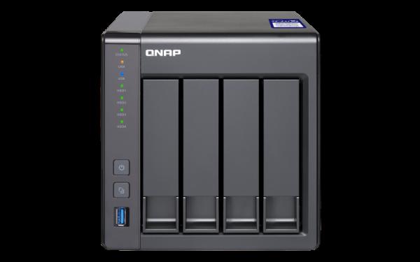 Qnap Turbo Nas Quad-Core 1.7GHz Processor Network Storage (TS-431X2-8G)