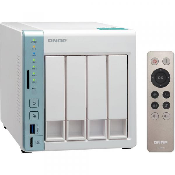 Qnap TS-451A 4-Bay NAS Enclosure Intel Celeron N3060 dual-core 1.6GHz (up to 2.48GHz) Network Storage (TS-451A-2G)