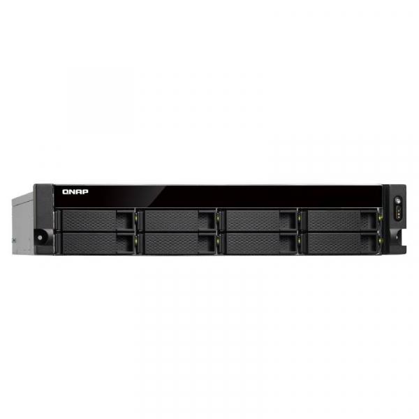 Qnap 8BAY NAS 8GB CEL QC-1.5GHz USB-C GbE(4) Network Storage (TS-853BU-RP-8G)