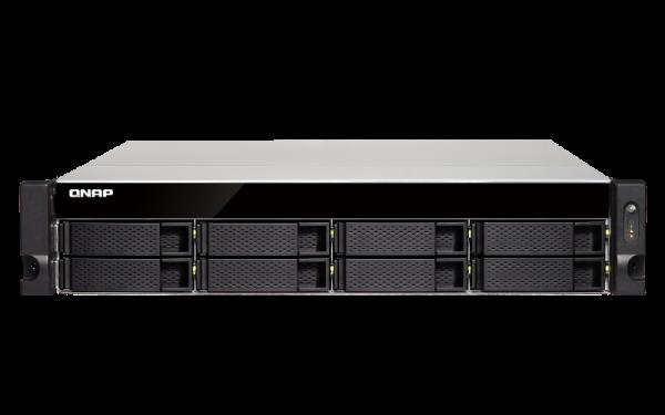 Qnap 8 Bay Nas (No Disk)4GBAMD GX-420MCGBE(4)1 Network Storage (TS-863XU-RP-4G)