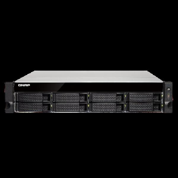 Qnap 8 Bay Quad-Core NAS with dual 10GBE SFP+ Network Storage (TS-873U-16G)
