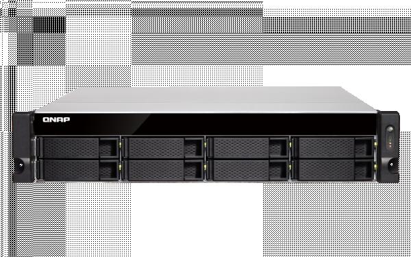 Qnap 8 Bay Nas(No Disk) Xeon E-2124 8GB 10GBE Network Storage (TS-883XU-E2124)