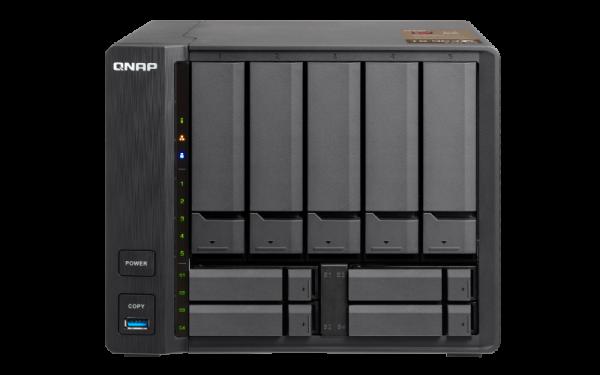 Qnap 5+4 Bay Nas (No Disk)2GBAMD GX-420MCGBE (1)10G Network Storage (TS-963X-2G)