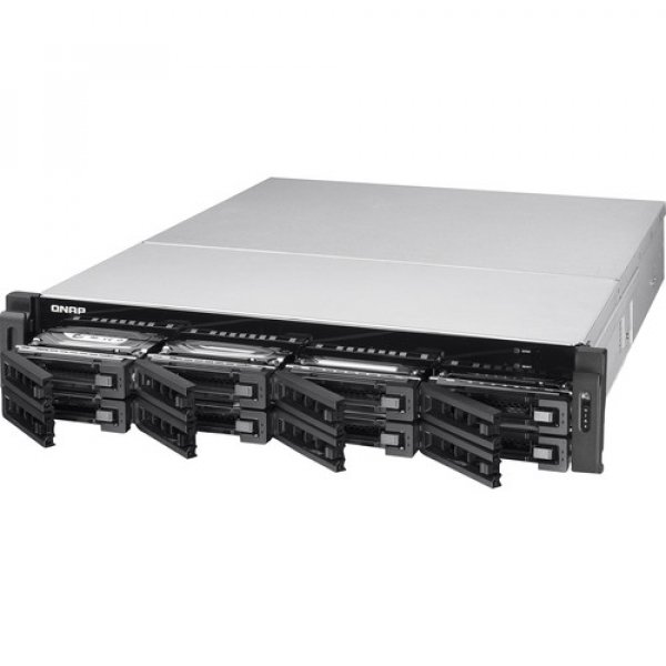 Qnap TS-EC880U-E3-4GE-R2 8-Bay Unified NAS quad-core 3.4 GHz Processor Network Storage (TS-EC880U-E3-4GE-R2)