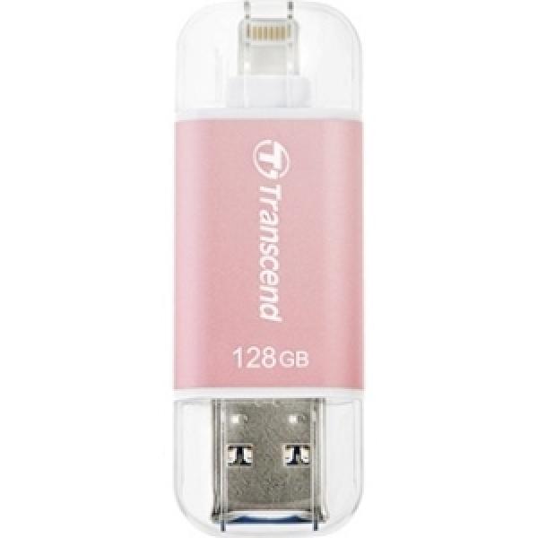 Transcend 128GB Jetdrive Go 300 Rose Gold Desktop Drives (TS128GJDG300R)