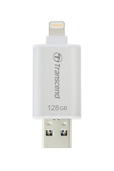 Transcend 128GB Jetdrive Go 300 Silver Plating Desktop Drives (TS128GJDG300S)