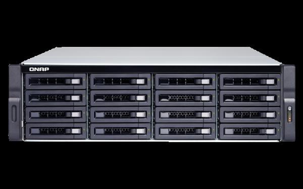 Qnap TS-1677XU-RP-2600-8G 16bay Nas (no Disk) AMD Ryzen 5 2600 6-core 3.4 GHz processor, Turbo Core 3.9 GHz  Network Storage (TS1677XURP26008G)