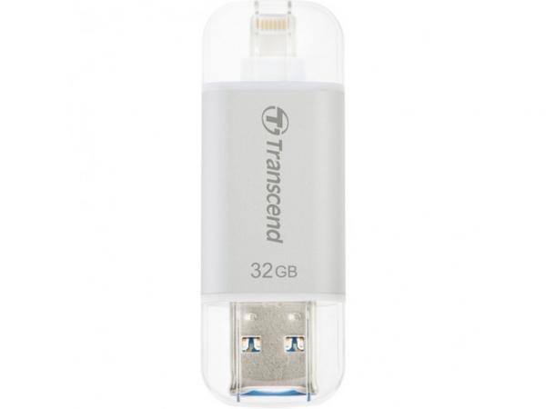 Transcend 32GB Iphone Jetdrive Go 300 Silver Desktop Drives (TS32GJDG300S)