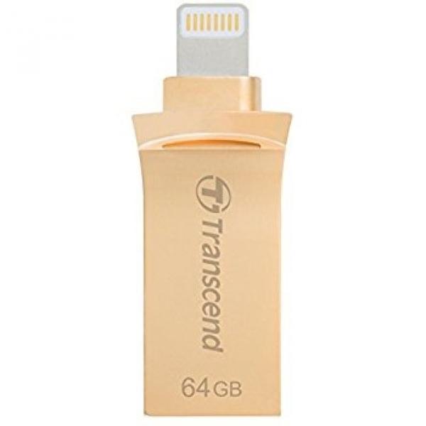 Transcend 64GB Jetdrive Go 500 Gold Plating Desktop Drives (TS64GJDG500G)