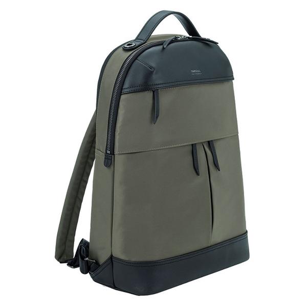Targus 15in Newport Backpack Olive ( Tsb94502 )