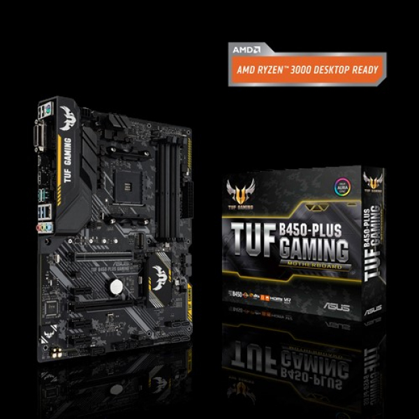 Asus TUF-B450-Plus-Gaming ATX Motherboard (TUF B450-PLUS GAMING)